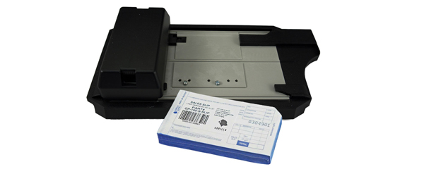 Imprinter and Sales Slips